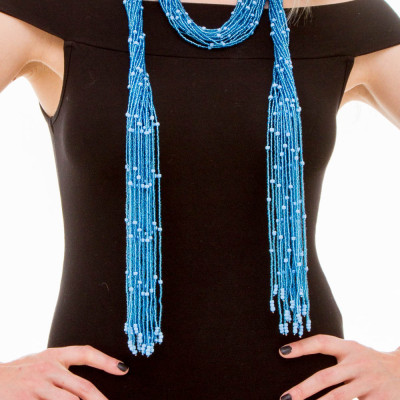 Scarf-necklace Bayaba