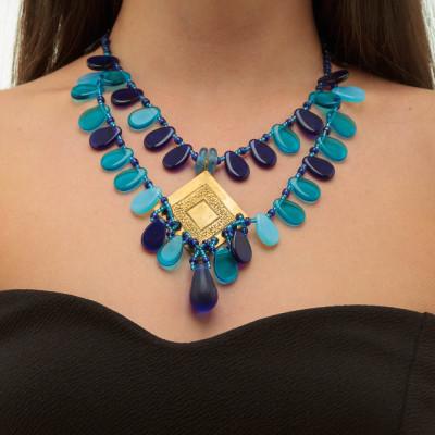Blue Yanai Necklace