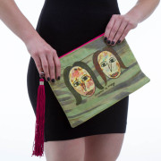Anago clutch bag: Sisters