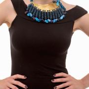 Yandjou Necklace blue