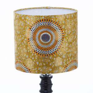 Golden circles Lampshade by Obatala