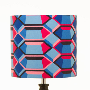 Lampshade with Hexagone geometric figures