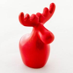 Red Reindeer Soapstone