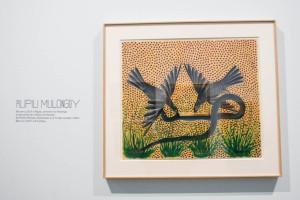 Untitled Painting by Pilipili Mulongoy