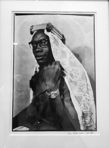 Portrait of a man by Seydou Keita