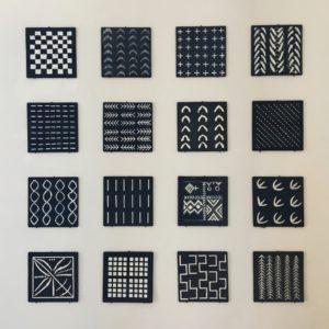 Typical Indigo motifs
