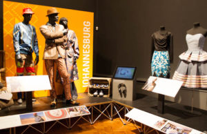 Johannesburgh Display at the exhibition