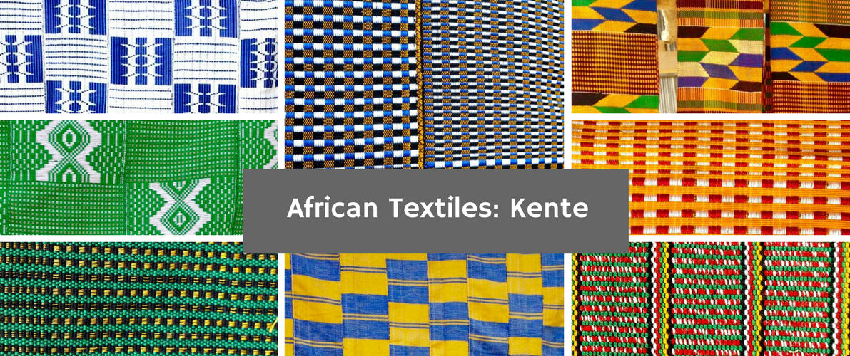 African textiles: Kente Patterns