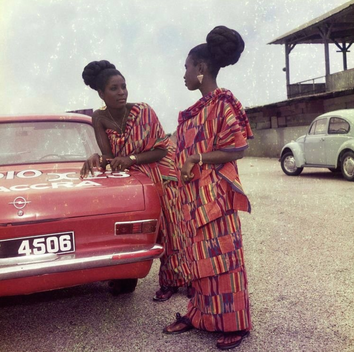 picture of two friends by James Barnor