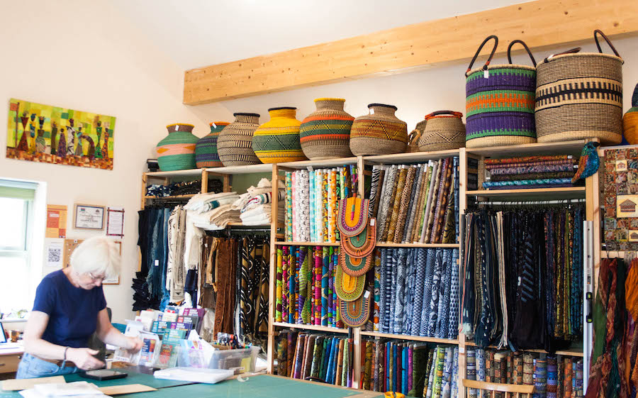 The African fabric shop : a little gem in the heart of Yorkshire