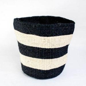 Woven basket black & White