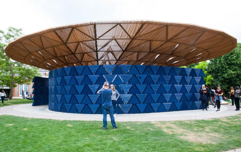 Serpentine Gallery Pavilion by Francis Kéré