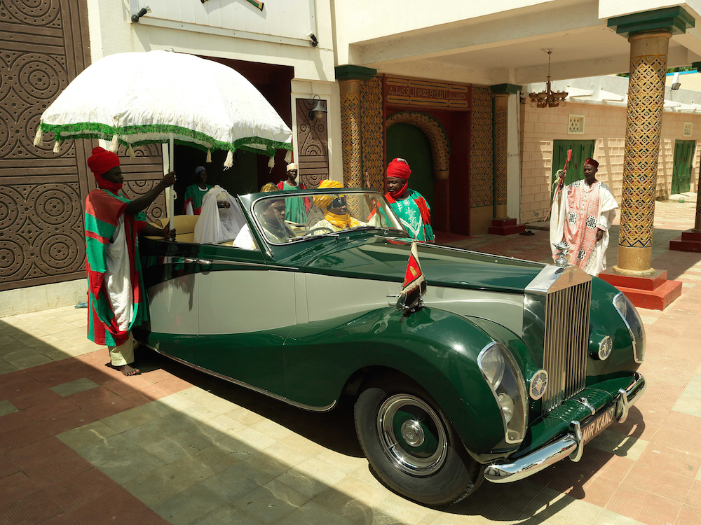 Picture of Emir of Kano's Rolls Royce, George Osodi, 2012.
