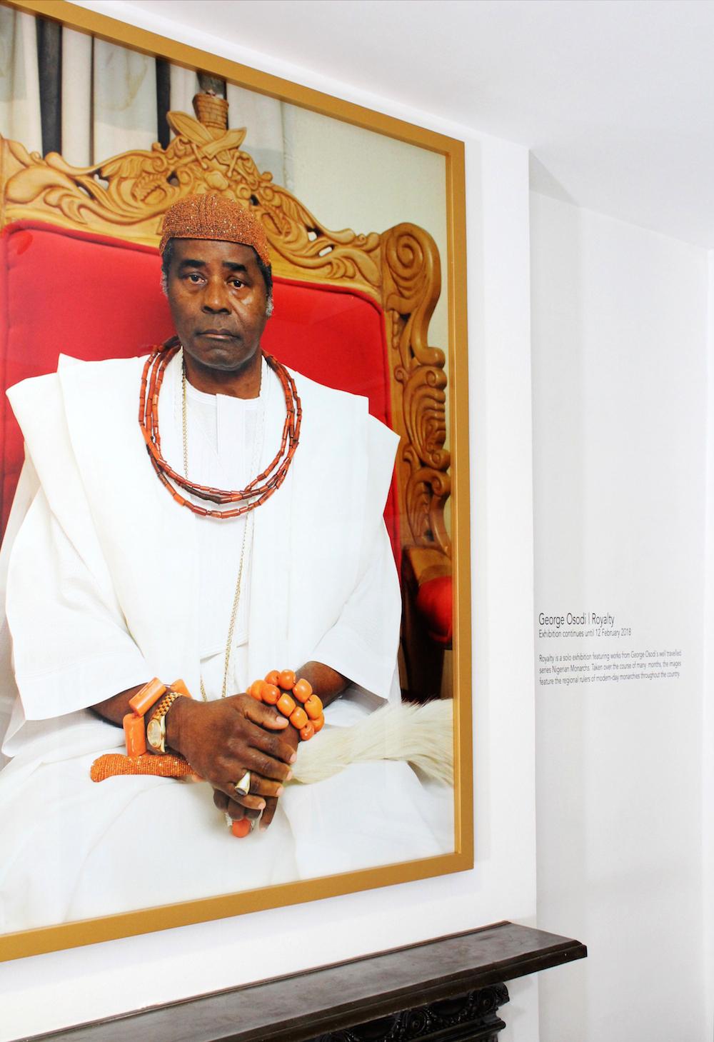 Picture of the Olu of Warri