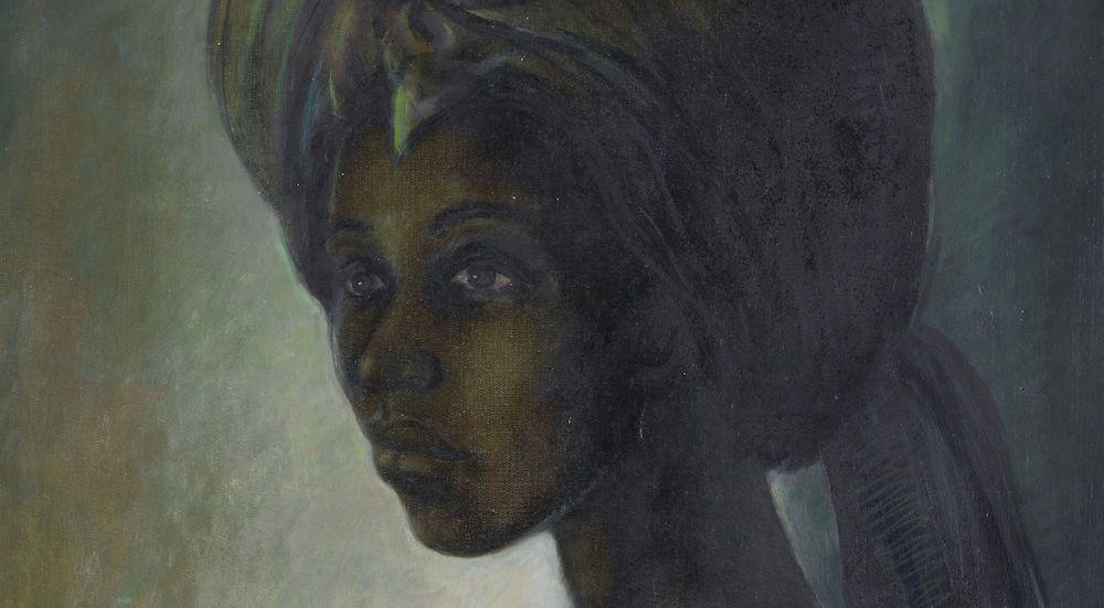 Tutu, Ben Enwonwu, 1974. Courtesy Bonhams