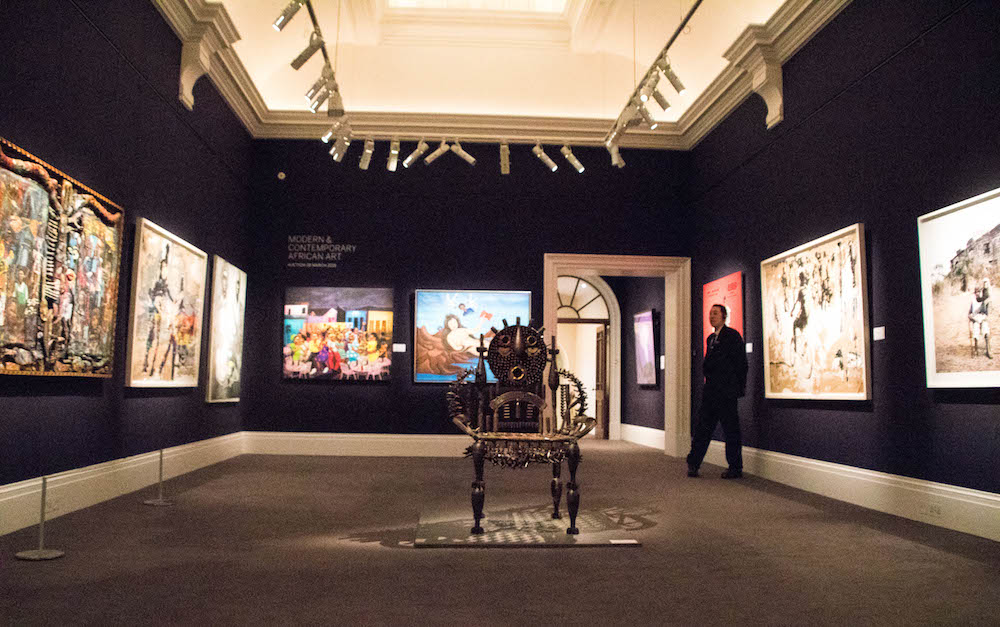 Sothebys African Art Auction