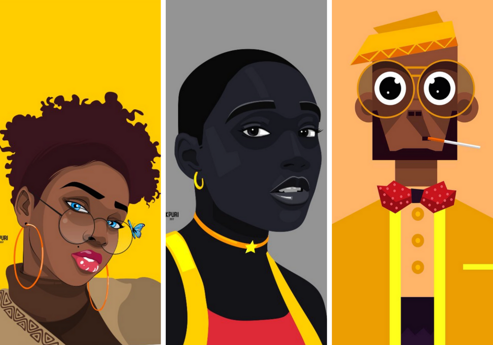 e Illustrations by Ubiomo Ogheneroh (@lord_kpuri)