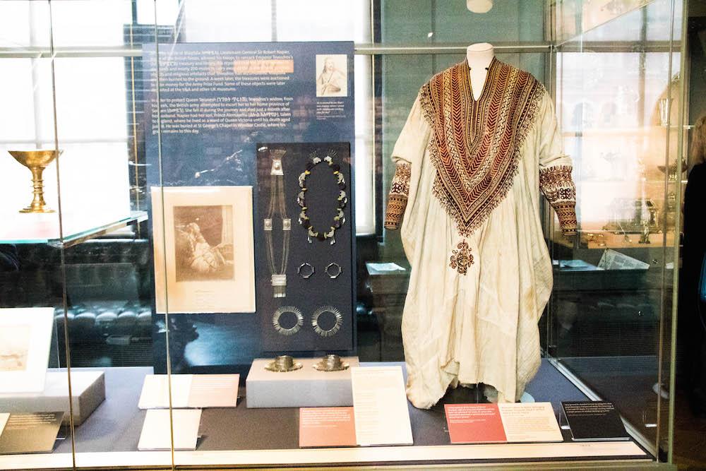 Maqdala exhibition at the V&A