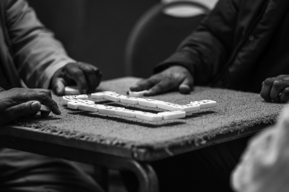 Picture Dominoes by Jim Grover, Windrush: Portrait of a generation
