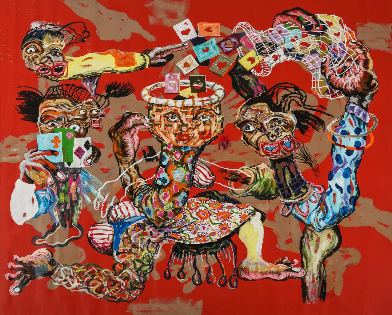 Cristiano Mangovo Brás, Les cartes, 2018