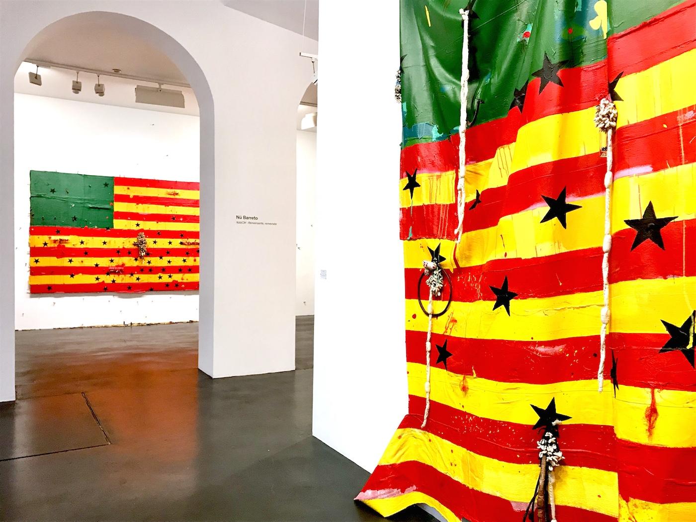 Nú Barreto, Africa-renversante, renversee at Galerie Nathalie Obadia, Paris