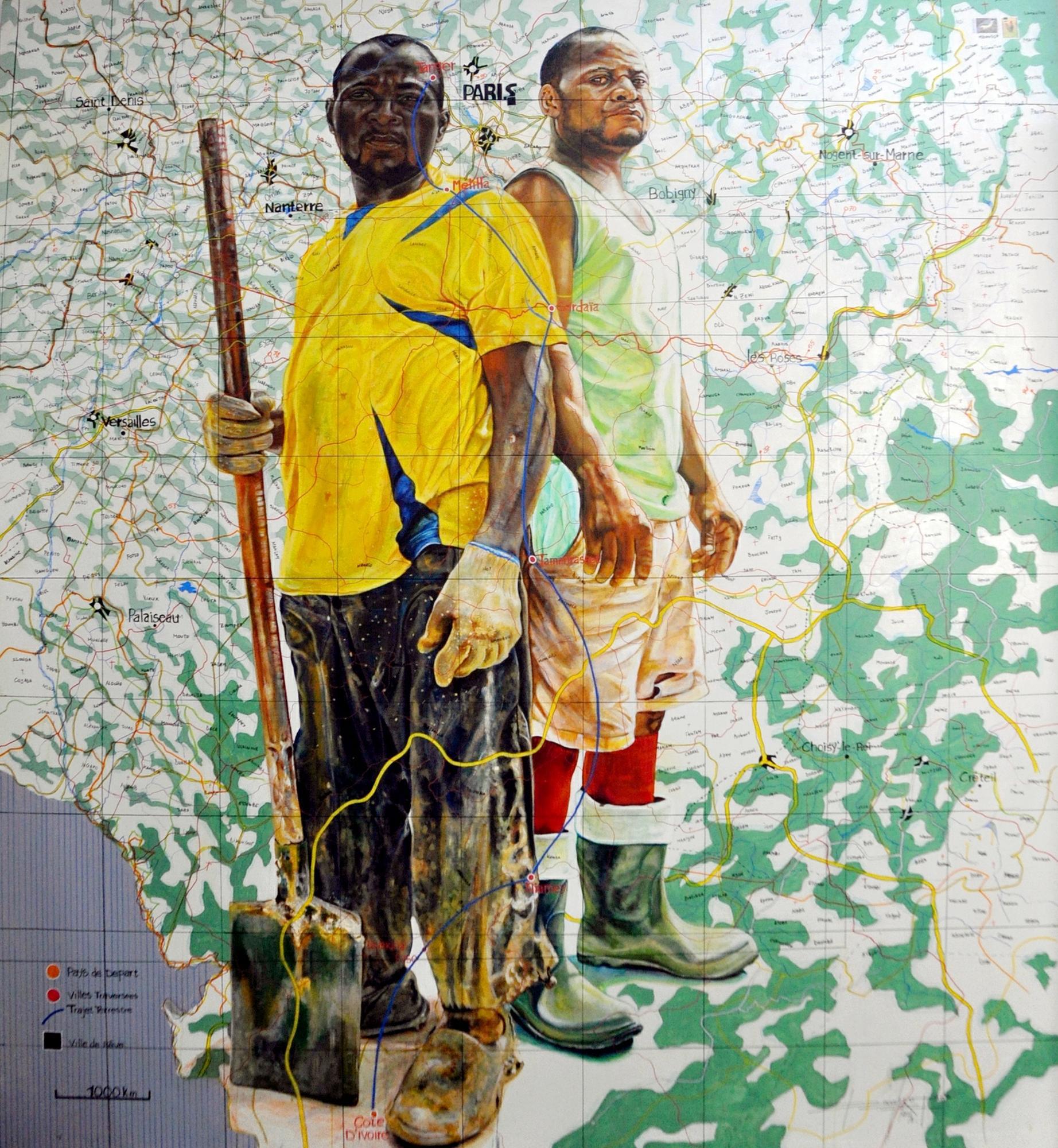 Jean David Nkot, Po Box 237_Dream Ligne 2018, Courtesy Sulger-Buel Lovell