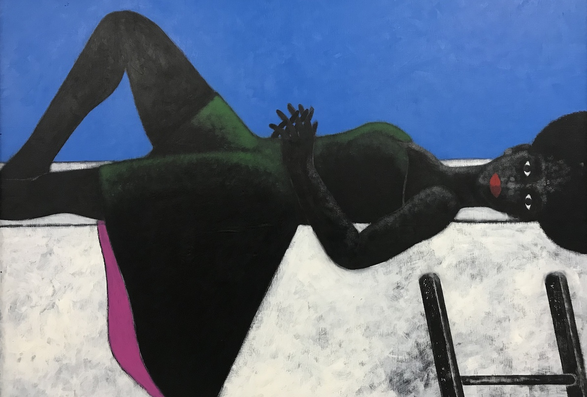Abe Odedina, Head for Heights, 2018, Courtesy Ed Cross Fine Art