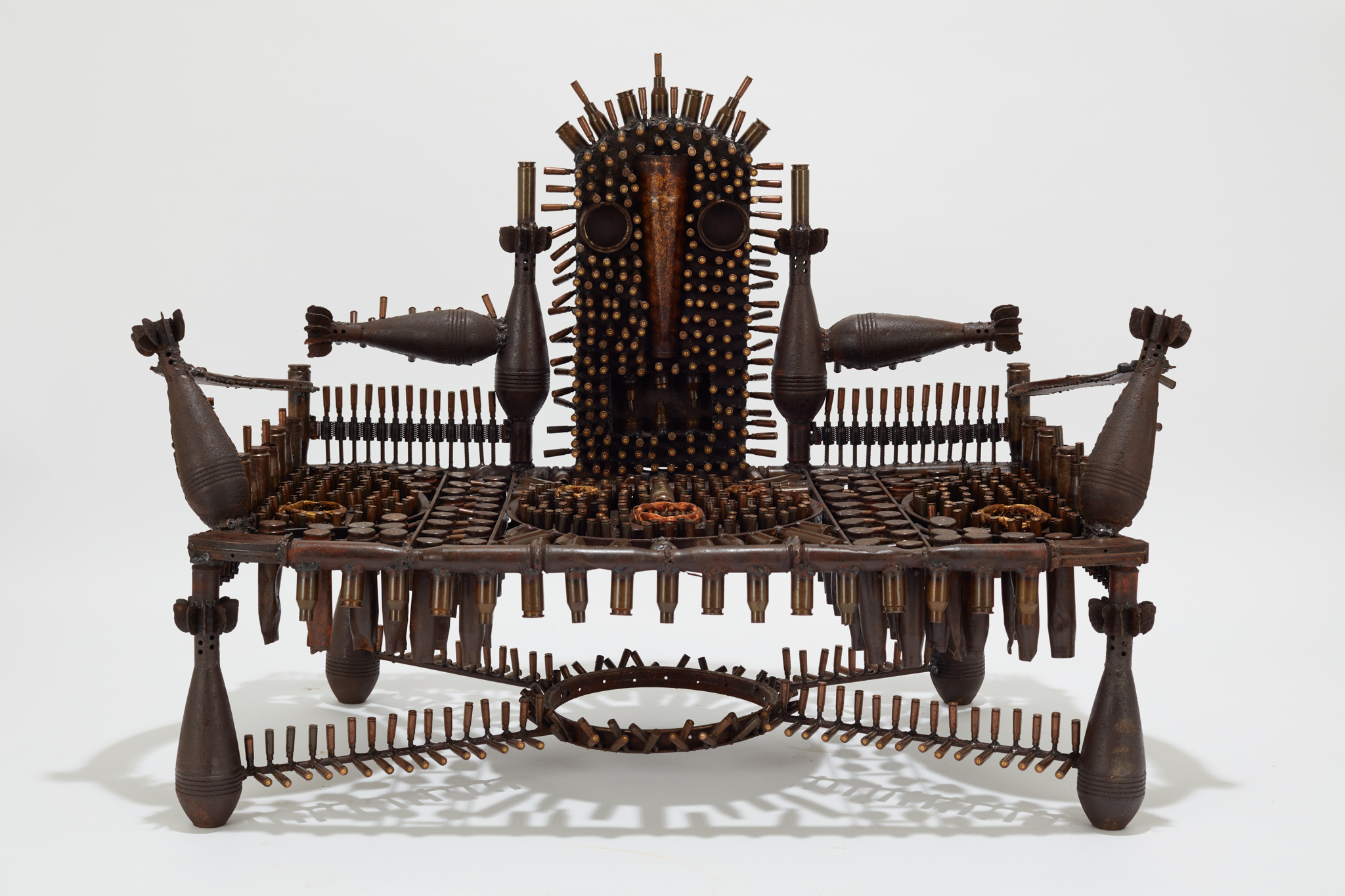 Goncalo Mabunda, Untitled (throne), 2019, Courtesy of Jack Bell Gallery
