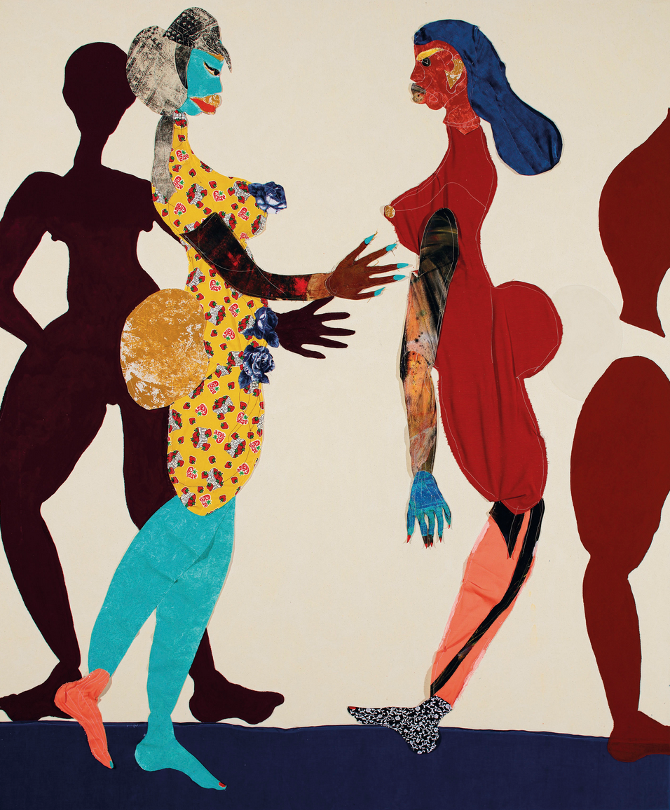 Tschabalala Self, Out of Body, 2015