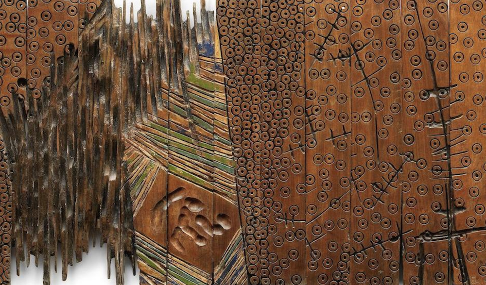 Detail of Untitled, El Anatsui, 94. Modern & Contemporary African Art Auction. Bonhams.