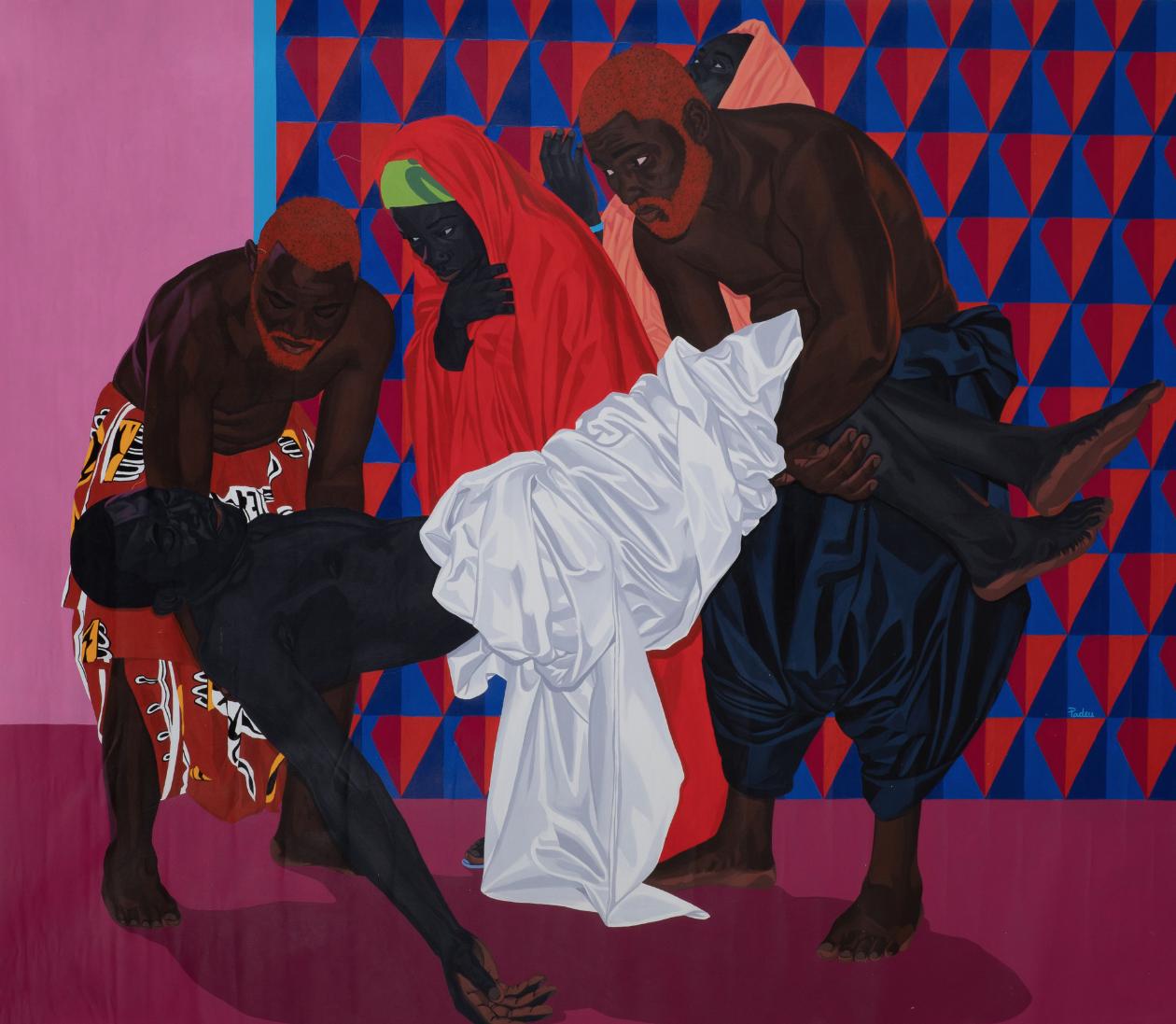 Marc Padeu (né en 1990, Cameroun) The king is dead, 2019. Courtesy of the artist