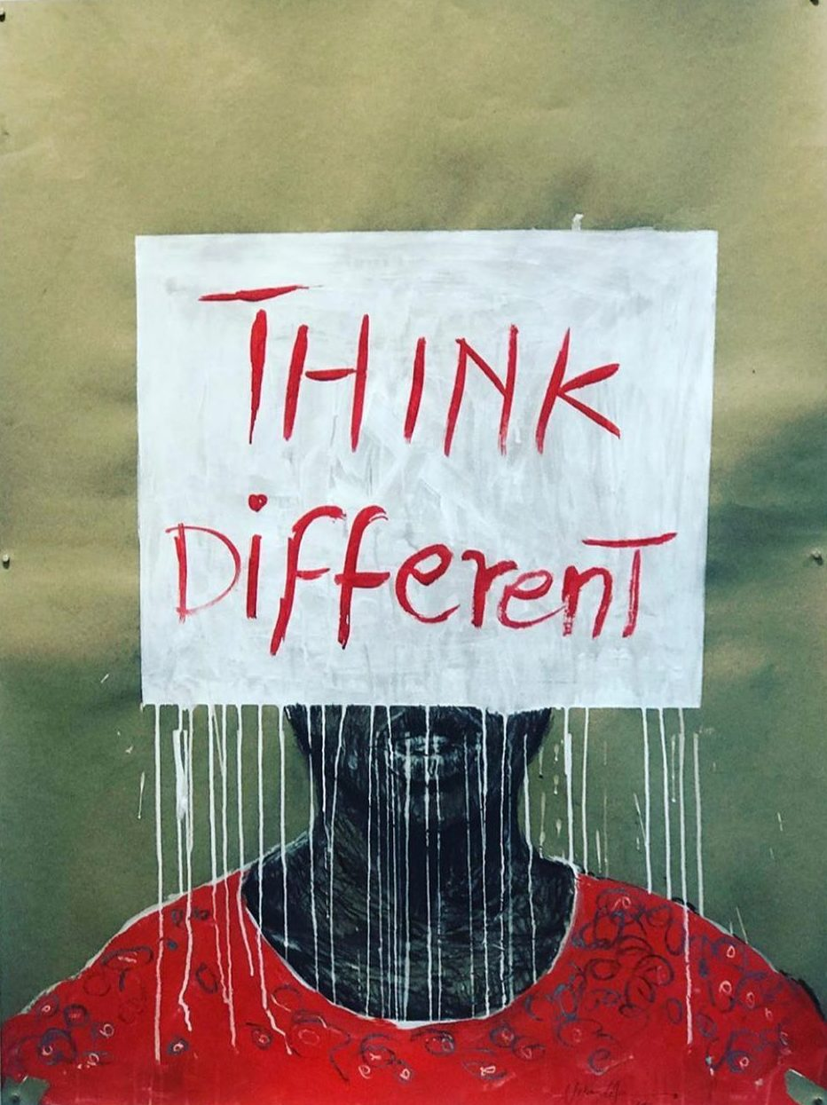Nelson Makamo, Think Different, 2019. AKAA Fair