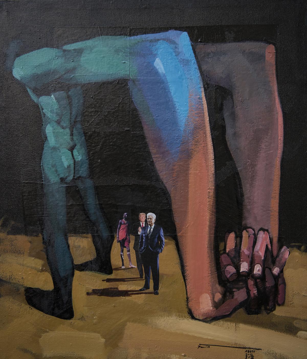 Dawit Abebe Long Hands 8, 2019. Courtesy Kristin Hjellegjerde Gallery