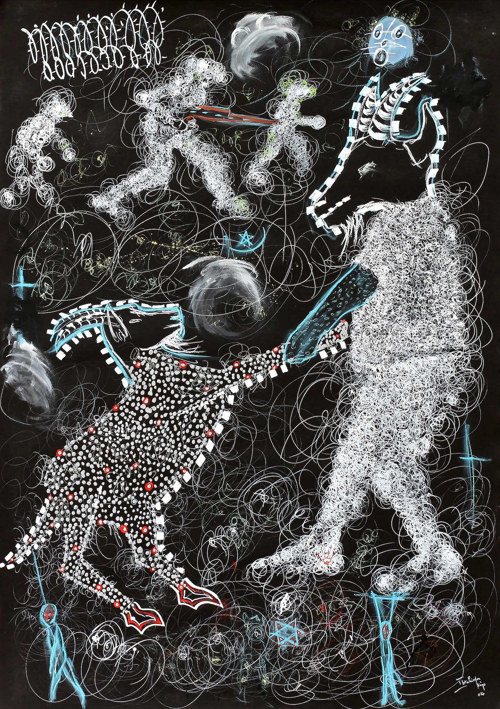 Serigne Ibrahima Dieye, 2_1. Sacrifice3. Courtesy Galerie Cécile Fakhoury