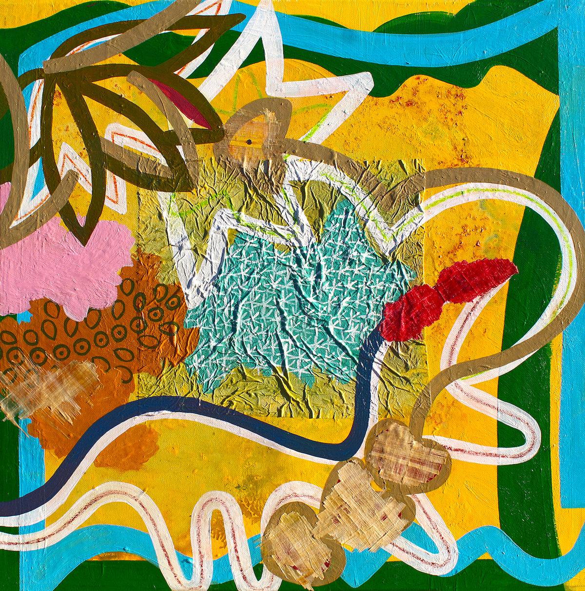 Tiffanie Delune, Foreign Familiarity, 2019. Courtesy Ed Cross Fine Art