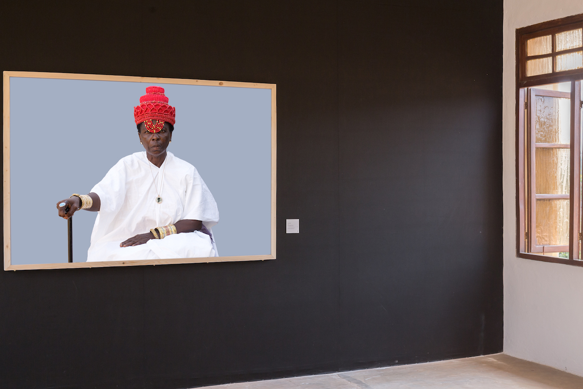 Ishola Akpo, Exhibition Agbara Women at the Musée de la Fondation Zinsou, Courtesy the Artist