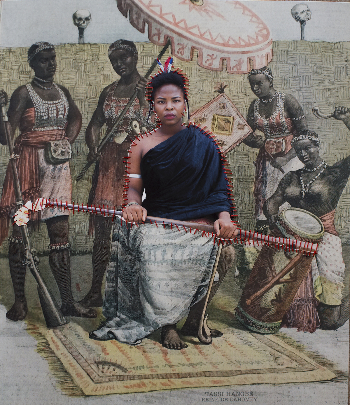 Ishola Akpo, Exhibition Agbara Women, at the Musée de la Fondation Zinsou, Courtesy the Artist