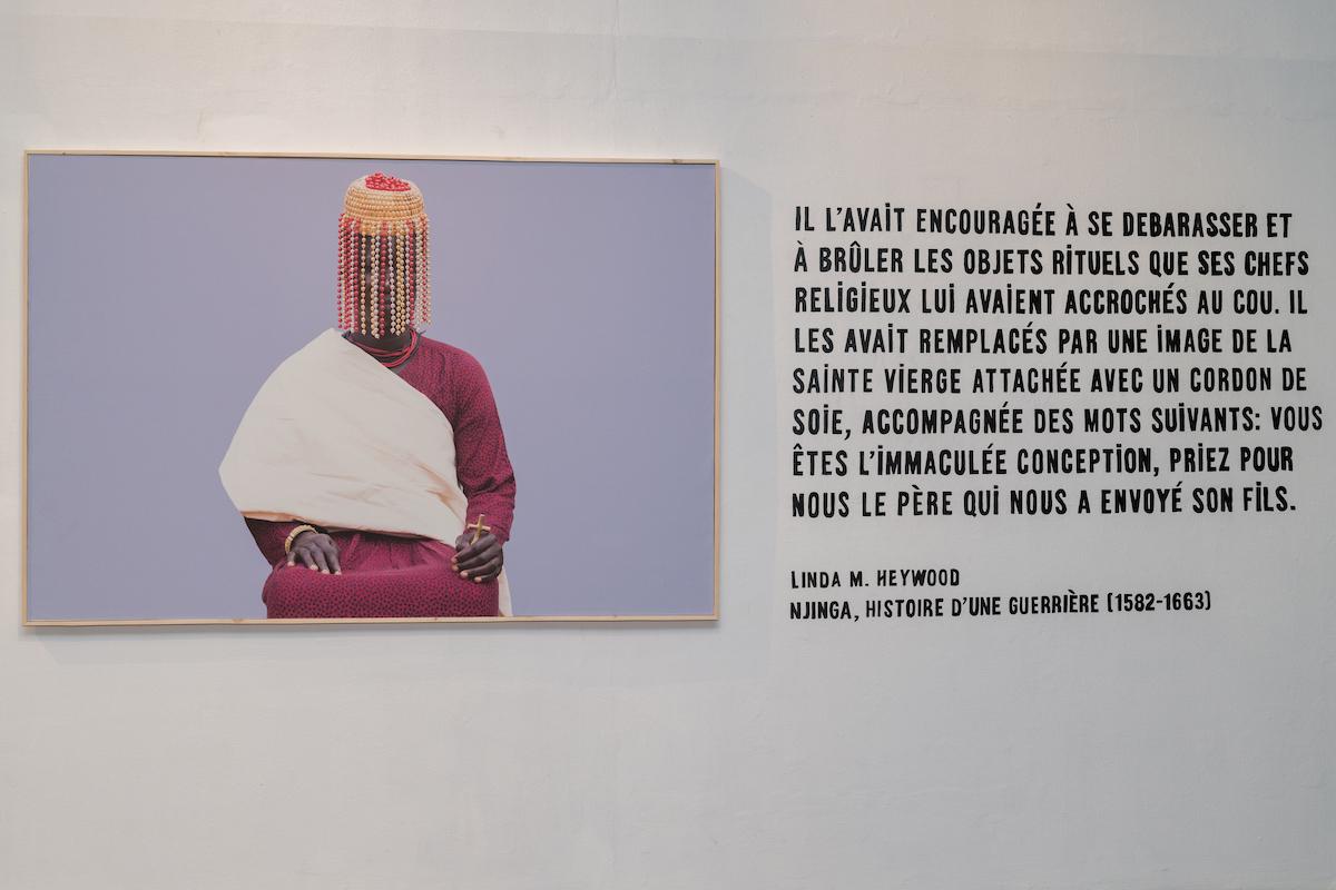 Souv-reine, Installation view, Ishola Akpo Agbara Women Series